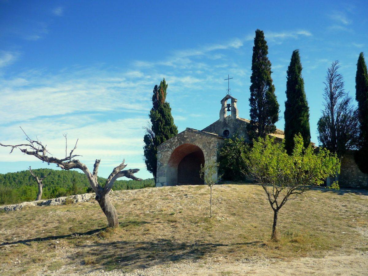 La Chapelle Ste Sixte à Eygalières