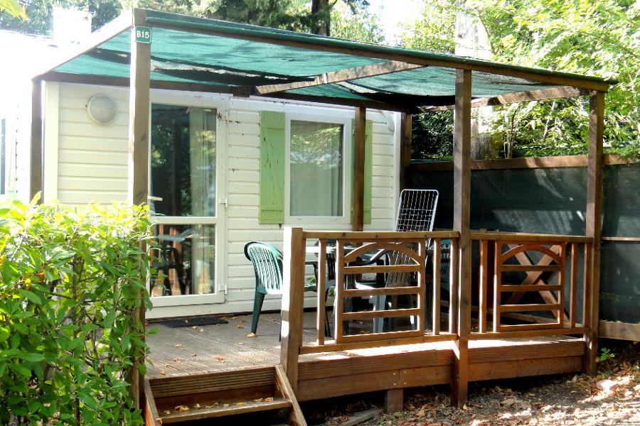 Location mobile home 2 personnes camping St Rémy de Provence