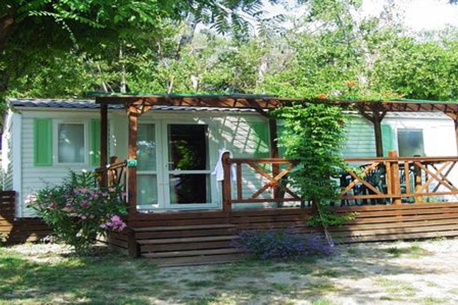 Location mobile home 5 personnes camping St Rémy de Provence