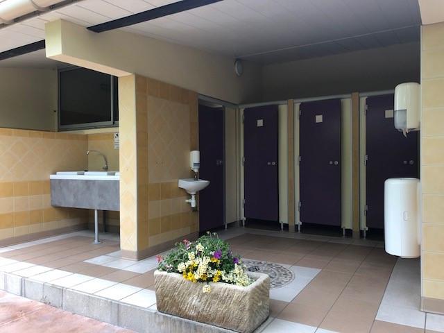 Sanitaire camping Saint-Rémy-de-Provence
