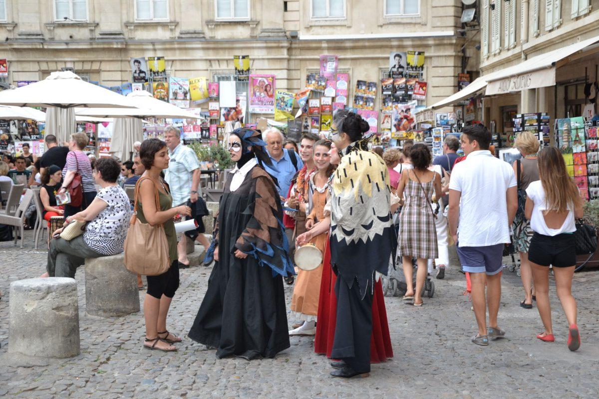Camping festival d'Avignon